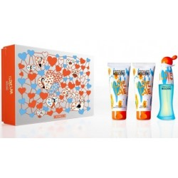 comprar perfume MOSCHINO CHEAP & CHIC I LOVE LOVE EDT 50 ML + B/L 100 ML + S/GEL 100 ML SET danaperfumerias.com