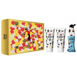 comprar perfume MOSCHINO CHEAP & CHIC SO REAL EDT 50 ML + B/L 100 ML + GEL 100 ML SET REGALO danaperfumerias.com
