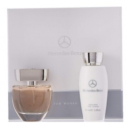 MERCEDES BENZ FOR HER EDP 60 ML + BODY LOTION 100ML SET REGALO