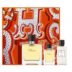 HERMES TERRE D'HERMES EDP 75 ML VAPO- EDP 12.5 ML + AFTER SHAVE BALSAM 40 ML SET REGALO