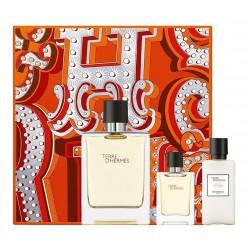comprar perfumes online hombre HERMES TERRE D´HERMES EDT 100ML+EDT 12.5ML+AFTER SHAVE 40ML SET REGALO