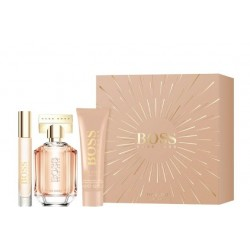 HUGO BOSS BOSS THE SCENT FOR HER EDP 50 ML + B/LC 50 ML + 10 ML SET