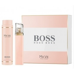 BOSS MA VIE EDP 75 ML + B/LOC 200 ML SET REGALO