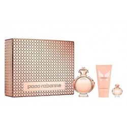 PACO RABANNE OLYMPEA EDP 80 ML + BODY LOCION 100 ML + EDP 6ML SET REGALO