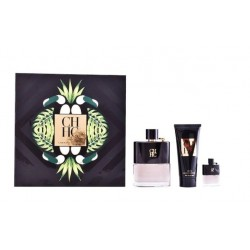 comprar perfume CAROLINA HERRERA CH MEN PRIVE EDT 100 ML + A/SHAVE 100 ML + MINI 10 ML SET REGALO danaperfumerias.com