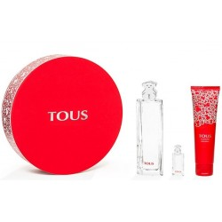 comprar perfume TOUS EDT 90 ML + BODY LOTION 150 ML + MINI 4,5 ML SET REGALO danaperfumerias.com