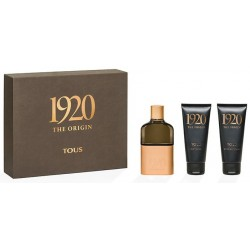 TOUS 1920 THE ORIGIN MAN EDT 100 ML + GEL 100 ML + A/S 100 ML SET
