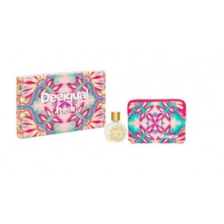 DESIGUAL FRESH EDT 100 ML VAPO + NECESER