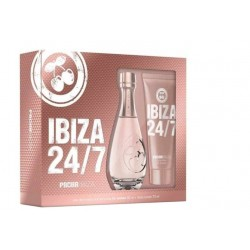 PACHA IBIZA HER 24/7 EDT 80ML VAPORIZADOR + BODY LOCION 75ML SET REGALO