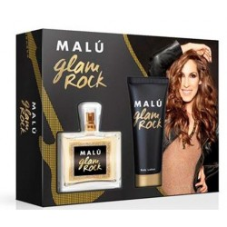 MALU GLAM ROCK EDT 100ML + BODY LOCION 75ML SET REGALO
