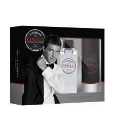 comprar perfumes online ANTONIO BANDERAS DIAVOLO GENTLEMAN EDT 100ML + DESODORANTE SPRAY 150ML SET REGALO mujer