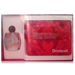 DESIGUAL YOU WOMAN EDT 100 ML VAPO+ NECESER SET REGALO