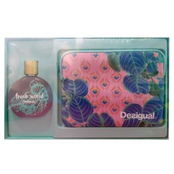 DESIGUAL FRESH WORLD EDT 100ML VAPO + NECESER