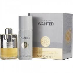 AZZARO WANTED EDT 100 ML + SHOWER GEL 100 ML SET REGALO