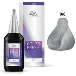 WELLA PROFESSIONAL COLOR FRESH COLORACION SEMIPERMANENTE 0/8 SILVER 75ML