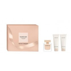 NARCISO RODRIGUEZ NARCISO POUDREE EDP 50 ML + B/L 75 ML + GEL 75 ML SET REGALO