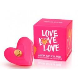 comprar perfumes online AGATHA RUIZ DE LA PRADA LOVE LOVE LOVE EDT VAPO 50ML mujer