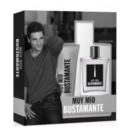 BUSTAMANTE MUY MIO EDT 100 ML VP + AFTER SHAVE 75 ML SET REGALO