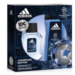 Comprar perfumes online set ADIDAS UEFA 4 CHAMPIONS EDITION EDT 50ML + GEL DUCHA 250ML