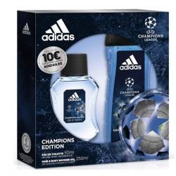 ADIDAS UEFA 4 CHAMPIONS EDITION EDT 50ML + GEL DUCHA 250ML