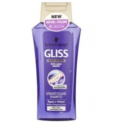 SCHWARZKOPF GLISS ULTIMATE VOLUMEN & REPAIR CHAMPU 250ML