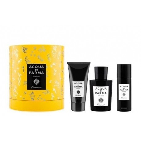 ACQUA DI PARMA ESSENZA EDC 100 ML + SG 75 ml + DEO 75 ML SET REGALO