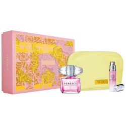 VERSACE BRIGHT CRYSTAL EDT 90 ML + EDT 10 ML +NECESER SET REGALO