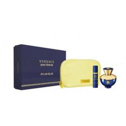 VERSACE DYLAN BLUE FEMME EDP 100 ML + EDP 10ML + NECESER danaperfumerias.com/es/