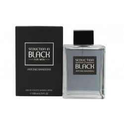 ANTONIO BANDERAS SEDUCTION IN BLACK EDT 200 ML VP.