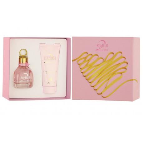 comprar perfume LANVIN RUMEUR 2 ROSE EDP 50 ML +B/L 100 ML SET REGALO danaperfumerias.com