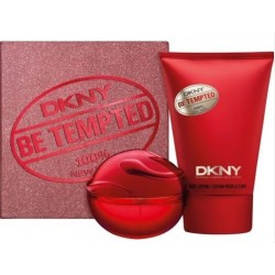comprar perfume DKNY BE TEMPTED EDP 30 ML VAPORIZADOR + BODY LOTION 100ML SET REGALO danaperfumerias.com