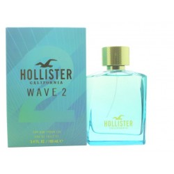 HOLLISTER WAVE 2 FOR HIM EDT 100ML VAPORIZADOR