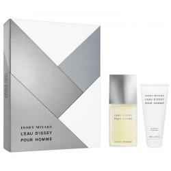 comprar perfume ISSEY MIYAKE L'EAU D'ISSEY POUR HOMME EDT 125ML + GEL 75ML SET danaperfumerias.com