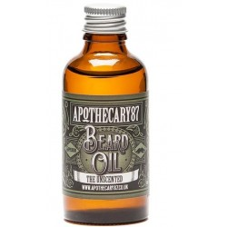 Comprar productos de hombre APOTHECARY 87 THE UNSCENTED RECIPE BEARD ACEITE CUIDADO BARBA SIN PERFUME 10ML danaperfumerias.com