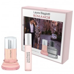comprar perfume LAURA BIAGIOTTI ROMANOR WOMAN EDT 25ML + EDT 10ML SET REGALO danaperfumerias.com