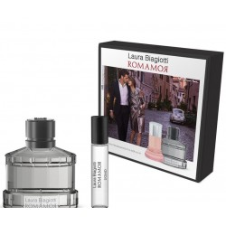LAURA BIAGIOTTI ROMANOR UOMO EDT 75ML + EDT 10ML SET REGALO