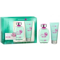 MANDARINA DUCK NEW YOK FOR WOMAN EDT 100ML + SHOWER GEL 100ML SET REGALO