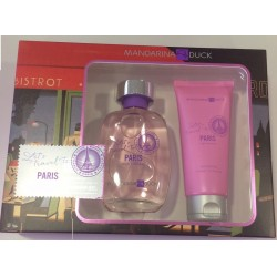MANDARINA DUCK PARIS FOR WOMAN EDT 100ML + SHOWER GEL 100ML SET REGALO