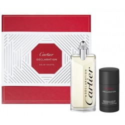 comprar perfume CARTIER DECLARATION EDT 100 ML + DEO STICK 75 GR SET REGALO danaperfumerias.com