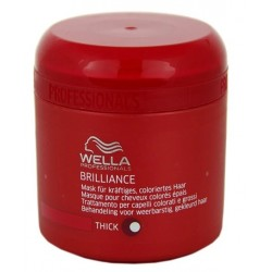 WELLA PROFESSIONAL BRILLIANCE MASCARILLA CABELLO GRUESO 150ML