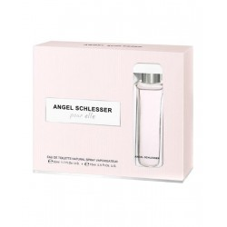 Comprar perfumes online set ANGEL SCHLESSER POUR ELLE EDT 50 ML + 15 ML SET REGALO