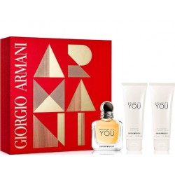 ARMANI BECAUSE IT'S YOU SET EAU DE PARFUM 50ML + SHOWER GEL 75ML + BODYLOTION 75ML