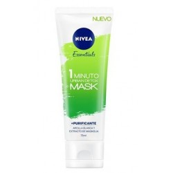 NIVEA ESSENTIALS URBAN SKIN DETOX MASCARILLA PURIFICANTE 1 MINUTO 75ML