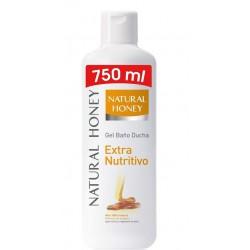 NATURAL HONEY GEL DE BAÑO DERMO NUTRITIVO 650ML + 100ML
