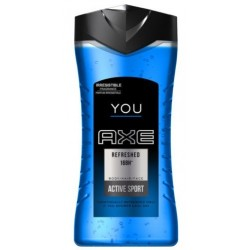 AXE YOU REFRESHED 3IN1 GEL DE DUCHA 250ML