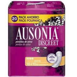 AUSONIA DISCREET COMPRESAS EXTRA 10 + 10 UNIDADES danaperfumerias.com/es/
