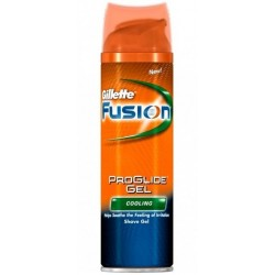 GILLETTE FUSION PROGLIDE HYDRA GEL COOLING 200 ML.