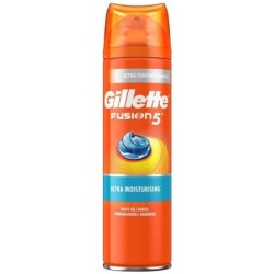 GILLETTE FUSION GEL AFEITAR  5 ULTRA HIDRATANTE 200 ML