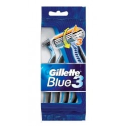 GILLETTE BLUE III MAQUINAS AFEITAR 4 UNIDADES