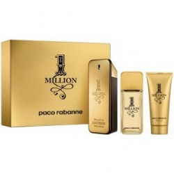 PACO RABANNE 1 MILLION EDT 200 ML+ A/S 100 ML + GEL SET REGALO